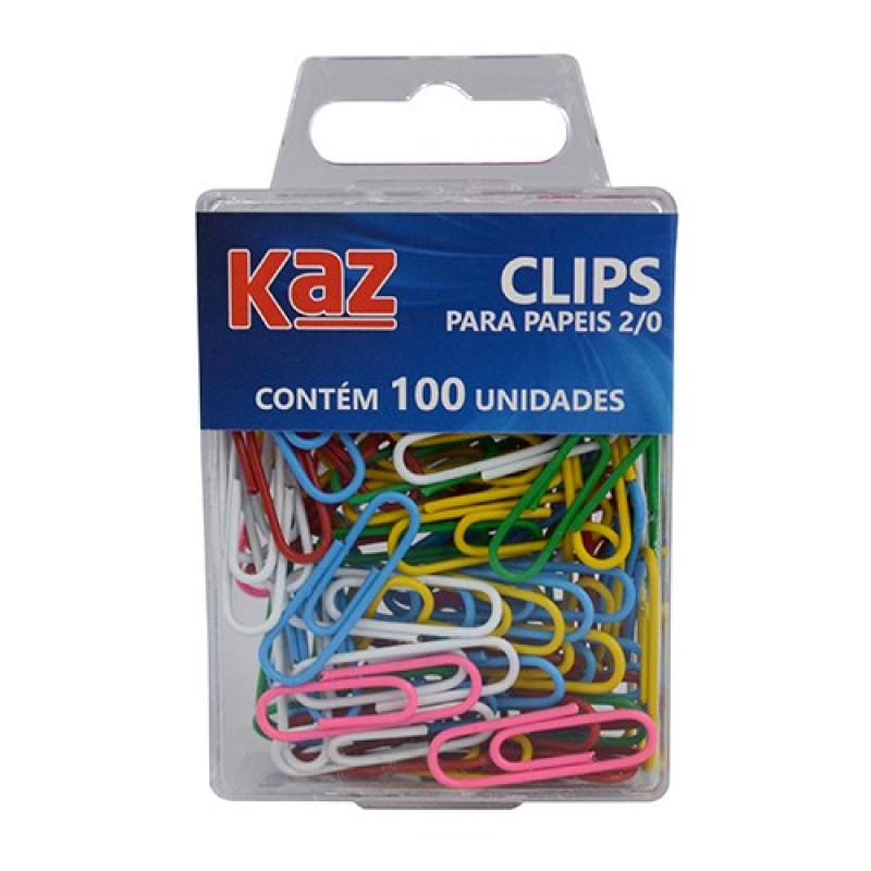 CLIPES P/PAPEIS N.2/0 COLORIDO KZ0507
