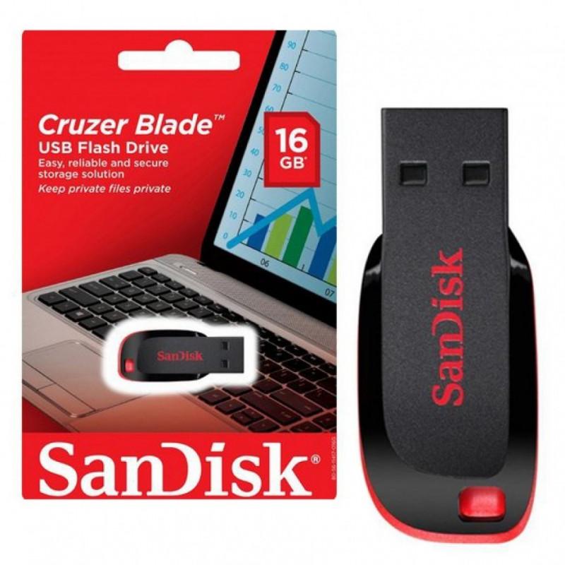PEN DRIVE SANDISK USB 2.0 16GB