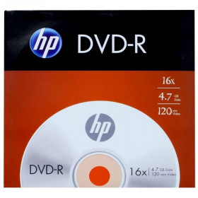 DVD-R HP 4.7GB 16X 120MIN C/ENVELOPE 46.3020