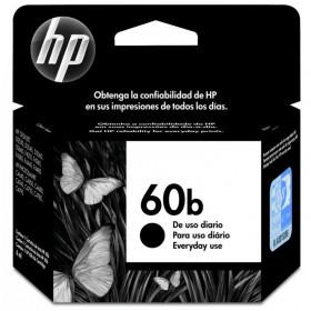 Cartucho de Tinta HP 60B Preto