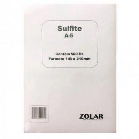 PAPEL SULFITE A5 210X148,5 75G (PT C/500 FL)