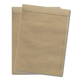 ENVELOPE SACO KRAFT NATURAL 25 176X250 29.0169-1 (BI C/10 EN)