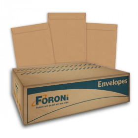 ENVELOPE SACO KRAFT NATURAL 36 260X360 29.0168-3 (BI C/10 EN)
