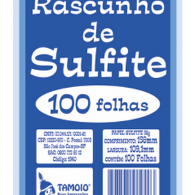 BLOCO RASC SULF 1/72 100FL 8X11 1939