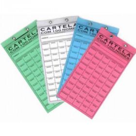 CARTELA DE RIFA 100 NOMES 6010