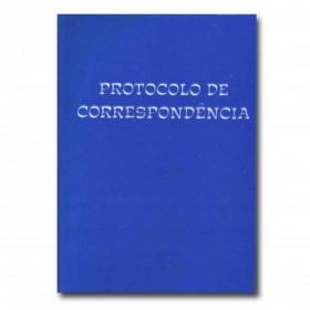 LIVRO PROTOCOLO CORRESP 1/4 100FL 2025
