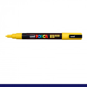 Caneta Posca 3M - 1,3mm / Amarela