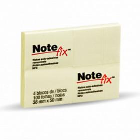 BLOCO ADES NOTEFIX NFX3 4BL 38X50 8686 AM (BI C/4 BL)