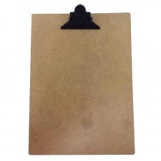 PRANCHETA 1/2 OFICIO MDF PREND PLASTIC CLIP 118