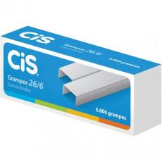 GRAMPO 26/6 GALVANIZADO CIS 179.5402 (CX C/5000 UN)