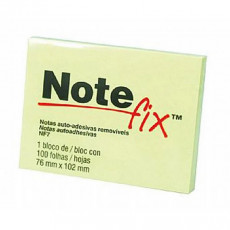 BLOCO ADES NOTEFIX NFX7 76X102 8702 AM (BL C/100 UN)